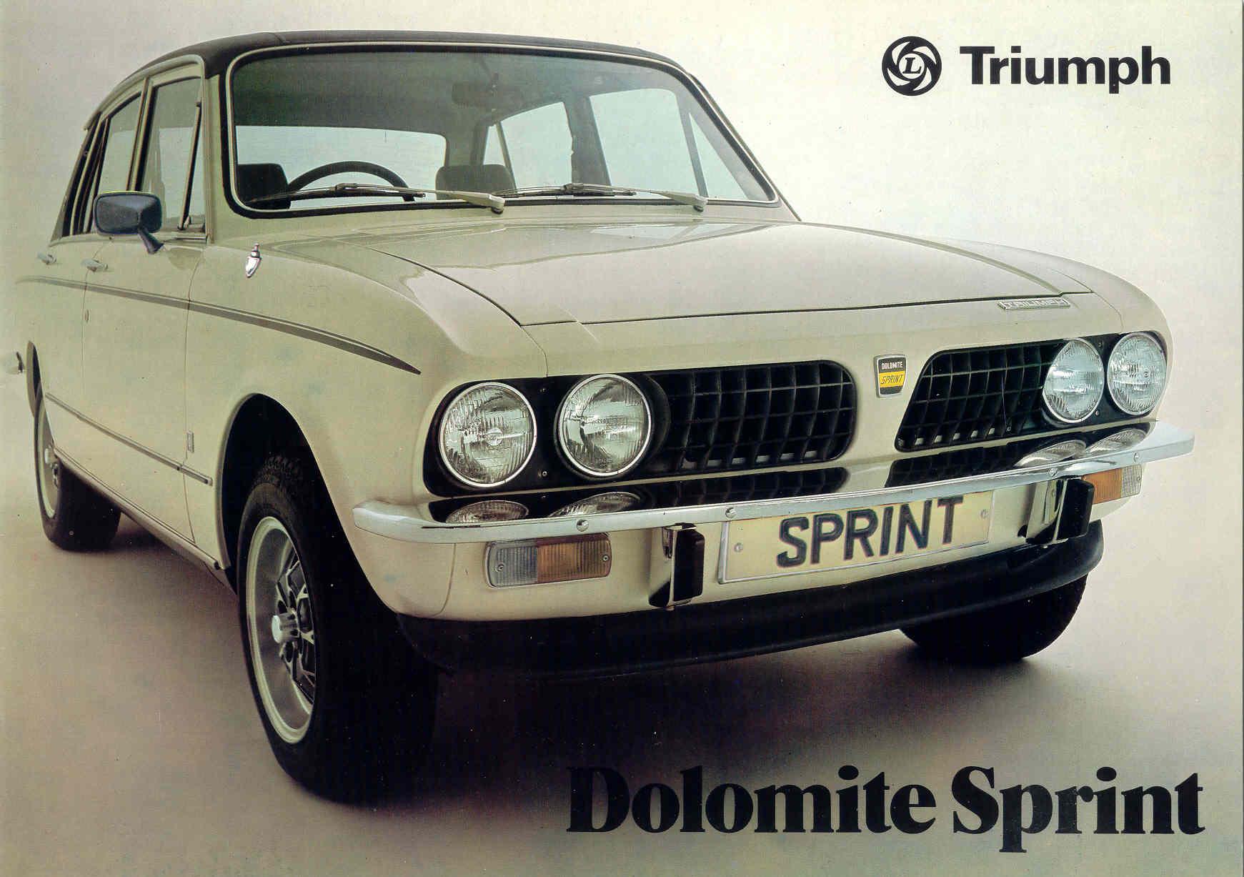 TR7 Sprint Conversion page